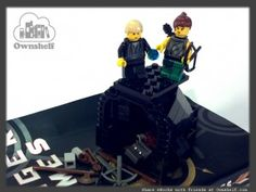 Hunger Games in Lego