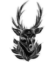 Significato del Tatuaggio Cervo.    #significato #significatotattoo #significatotatuaggio #tattoo #tatuaggio #significatocervo #cervo #cervotattoo #tatuaggiocervo #deertattoo #deer #wobbajack