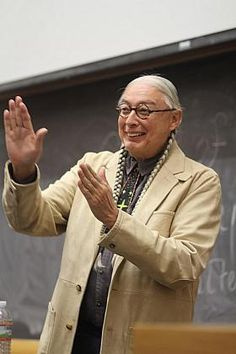 Walter Echo-Hawk (Pawnee), Founding Board Member of the Native Arts and Cultures Foundation http://www.nativeartsandcultures.org