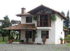 Village House Design, Bungalow House Design, Village Houses, Small House Design, Indian Home Design, Kerala House Design, Spanish Style Homes, Spanish House, Spanish Bungalow