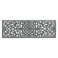 Moroccan Inspired Wood Carved Wall Panel - BedBathandBeyond.com
