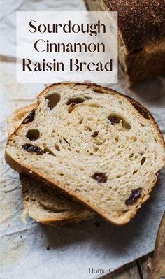 Deliciously soft, scented with cinnamon and studded with raisins. This sourdough cinnamon raisin bread is great to eat fresh, or toasted and slathered with butter. Sourdough raisin bread- Sourdough Bread - sourdough recipe - sourdough recipes - cinnamon sourdough - sourdough raisin toast - Sourdough Starter Recipes - Recipes using Sourdough starter- Sourdough bread recipes - easy sourdough recipes