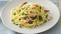 Creamy prawn pasta recipe : SBS Food