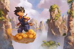 Ian MacDonald - Dragon Ball 30th Anniversary Art Show – Q Pop Gallery