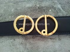 """aquilafashions.com - reuse buckle - replacement belt straps. One real one counterfeit can you tell? Hint: look out for the discolouration down the center of the """"d"""". Dunhill close end replacement belt strap SGD 120.00."""