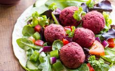 <p>What makes a falafel truly amazing is freshness and these vibrant beet falafels certainly aren't lacking in that!</p>