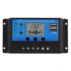 Build-in industrial micro controller. * Big LCD display,all adjustable parameter. * Fully 4-stage PWM charge management. * Dual mosfet Reverse current protection ,low heat production. * (Placed within the Amazon Associates program) * 12:39 Mar 7 2017