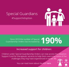 An interesting read on Special Guardianship Orders Find out more about the special features of Special Guardianship Orders. Unsung Hero, Adoptive Parents, Adopting A Child, Happy Relationships, Family Life, Insight, How To Find Out, Adoption, Told You So