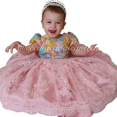 Ana Beatriz linda veste Cecilia Cavalcante!!! Tiara por @mimos_de_princesa_rn