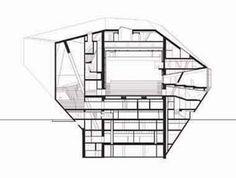 Rem Koolhaas - Casa da Musica - section