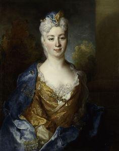 """Marie Elisabeth Desiree de Chantemerle, Comtesse de Hergh"" by Nicolas de Largillière (1715)"