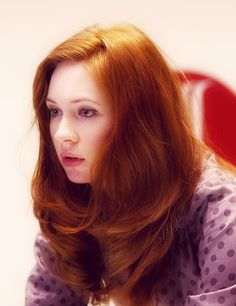 Karen Gillian's beautiful red hair. I really need a board dedicated to my fellow gingers