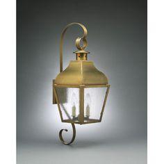 Northeast Lantern Stanfield 1-Light Outdoor Wall Lantern