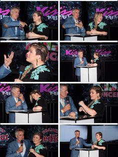 Kelly Clarkson Kiss 108 Kiss concert