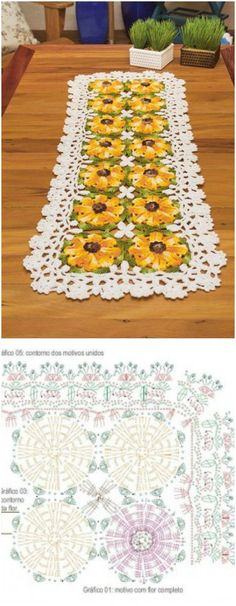 I am going to show you some crochet Table Runner patterns which will increase your home décor!Free Crochet Table Runner Pattern