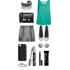 """""""Shiny green"""" by queen-95 on Polyvore"""