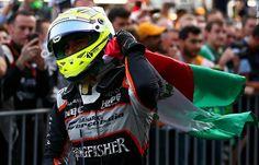 Sergio «Checo» Pérez. Baku, 2016. #Formula1 #F1 #EuropeGP