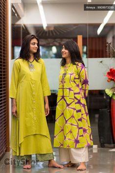 outfit casual date Salwar Designs, Blouse Designs, Pakistani Dresses, Indian Dresses, Indian Outfits, Indian Attire, Indian Wear, Kurta Style, Look Short