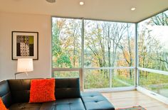 What You Need to Know About Buying Energy-Efficient Windows Replacement windows can be pricey, so it's only fair to ensure you benefit from an upgrade before you spend thousands. Here's a handy guide to buying energy-efficient windows right for your home. Window Cost, Energy Efficient Windows, Doors And Floors, Floor To Ceiling Windows, Sunroom Designs, Aluminium Windows, Upvc Windows, Modern Windows, Windows Exterior
