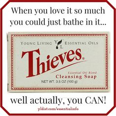 For REAL! Didn't know about this beauty for the longest time. Thieves bar soap #thieves #toxinfree #soaplove