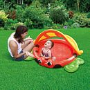 """Sizzlin' Cool Baby Pool with Inflatable Floor - Ladybug -  Toys R Us - Toys""""R""""Us"""