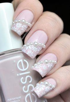 pearl flower nail