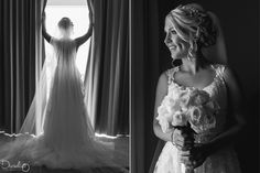 Gorgeous bride at Dreams Los Cabos. Black and white wedding photography always wins my heart.
