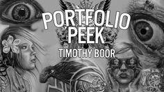 "Check out Sullen TV's ""Portfolio Peek"" with Timothy B! Follow Facebook: https://www.facebook.com/SullenTVNetwork Follow Blog:  http://sullentv.tumblr.com/ #sullentv #sullen #sullenclothing #sullenartcollective #tattoos #tattoo #tattooed #art #ink #artist #realistic #realism #portfoliopeek #timothyb"