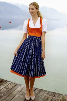 Tostmann Trachten Dirndl 2014--C'mon, haven't you always wanted to wear a dirndl? <they're quite comfy