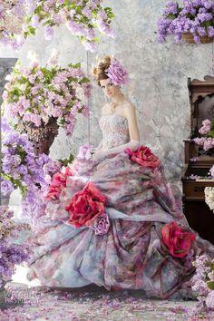 Stella de Libero Color Wedding Dresses | Wedding Inspirasi