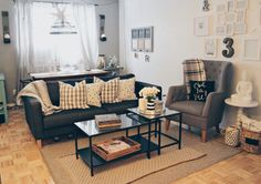 Apartment styling! Head to my Instagram and find out where every piece is from @simpleblissblog