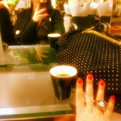 #MariaMazza Maria Mazza: Dal @teamleovinc anche una bella tisana per rilassarmi #me #mariamazza #hair #napoli #top #tisana #relax