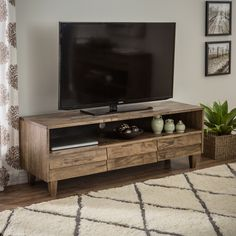 Venetian 3-drawer Entertainment Center - Overstock™ Shopping - Great Deals on Entertainment Centers