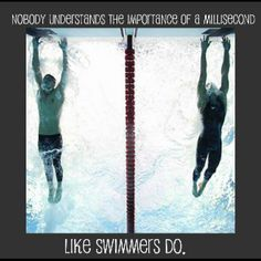 Only swimmer will truly understand this!