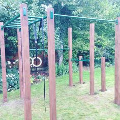 """Unleash your pulling power this winter when training outside. #crossfit #abs #olympicrings #gardenfitness #outdoorfitness #garden #pullups"""