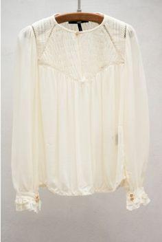 pretty lace blouse