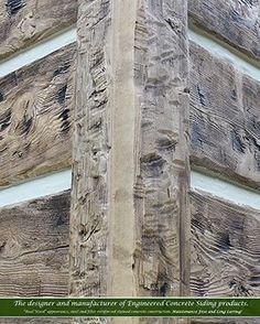 Concrete Siding, Fiber Cement Siding, Concrete Forms, Concrete Wood, Amish Cabins, Log Cabins, Log Cabin Siding, Mountain Home Exterior