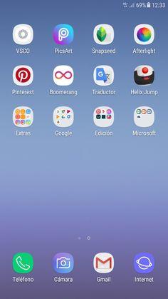 Ideas home screen samsung apps