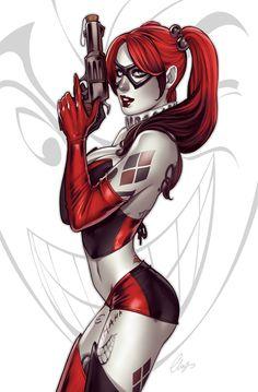 Harley Quinn by Elias-Chatzoudis.deviantart.com on @DeviantArt - More at https://pinterest.com/supergirlsart