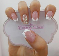 Visit the post for more. Gel Nail Art, Nail Manicure, Gel Nails, Lace Nails, Glitter Nails, Gorgeous Nails, Pretty Nails, Acrylic Nail Designs, Acrylic Nails