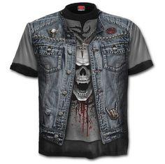 Thrash Metal T-Shirt https://www.highvoltageclothing.com  #clothing #loveit #musthave #biker