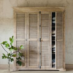 1000 images about maison du monde on pinterest cuisine for Armoire newport maison du monde