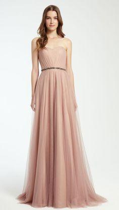Bridesmaid dress idea; Featured: Monique Lhuillier