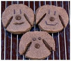 Biscuits pour chien au fromage