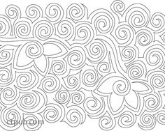 Related image Quilting Stencils, Quilting Templates, Longarm Quilting, Free Motion Quilting, Quilting Tutorials, Hand Quilting, Quilting Projects, Quilting Ideas, Sewing Projects
