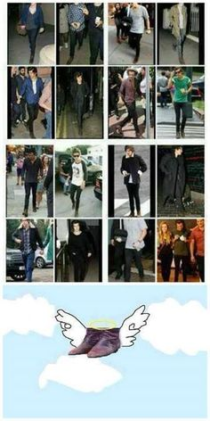 Those poor boots. R.I.P. Harry's boots. Everyone please respect his privacy and let him grieve in peace...Haha