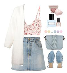 """""""Untitled #308"""" by jovana-p-com ❤ liked on Polyvore featuring Etro, R13, Liebeskind, Vanessa Bruno, Deborah Lippmann, Marc Jacobs and ncLA"""