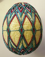 Special Gifts for Special People. Decorative balls and egg shapes beautifully covered in gorgeous colors and intriguing textures of thread. Great gifts and collectibles. Quilted Ornaments, Beaded Ornaments, Special Gifts, Great Gifts, Christmas Holidays, Christmas Crafts, Temari Patterns, Egg Shape, Easter Eggs