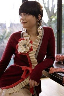 beautiful !!: a way to look elegant in a cardigan
