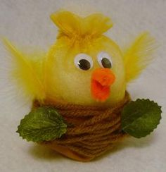 Springtime Chick Kids Craft